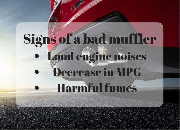 The 3 Signs of a Bad Muffler